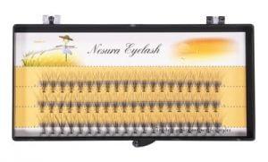 Nesura Eyelash Sztuczne Kępki Rzęs 12mm
